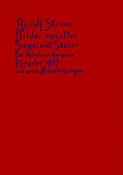 Bilder okkulter Siegel und Säulen als Buch