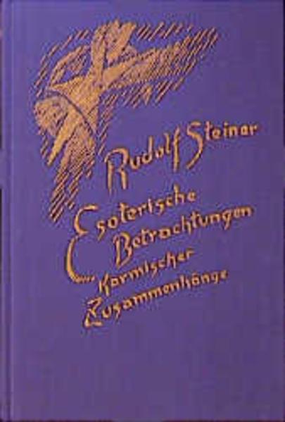 Esoterische Betrachtungen karmischer Zusammenhänge 4 als Buch