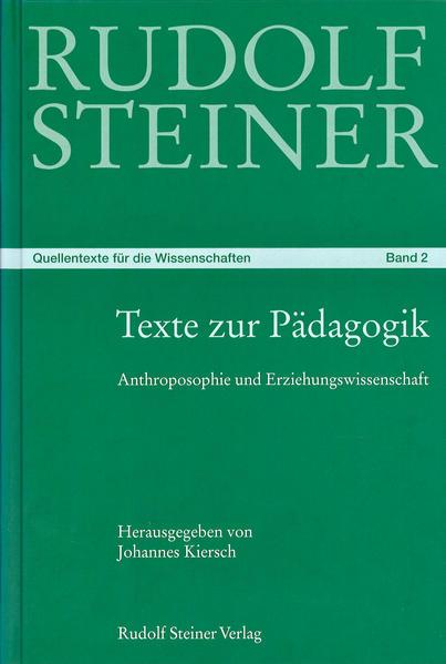 Texte zur Pädagogik als Buch
