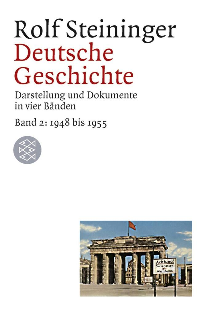 Deutsche Geschichte 2. 1948 bis 1955 als Taschenbuch