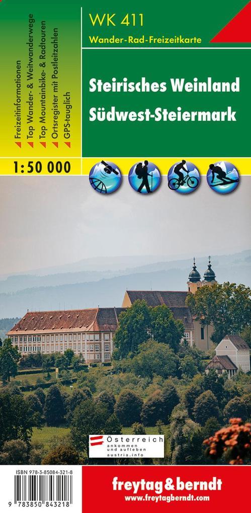 Steirisches Weinland 1 : 50 000 als Buch