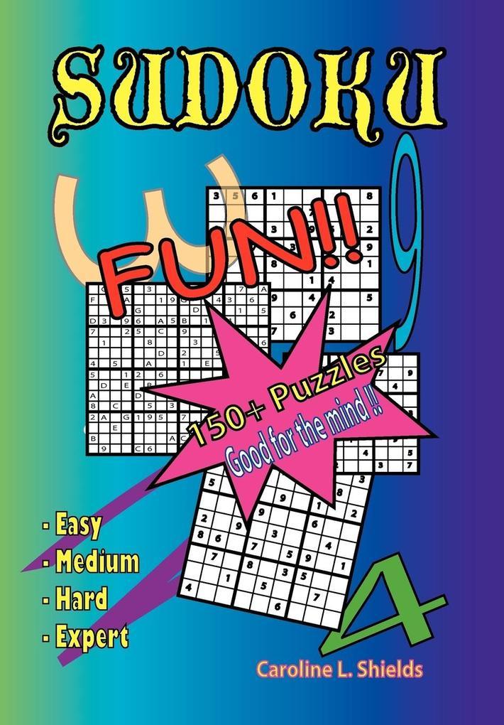 Sudoku als Buch von Caroline L. Shields