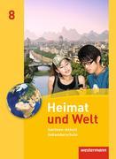 Heimat und Welt 8. Schülerband. Sekundarschulen. Sachsen-Anhalt