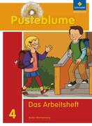 Pusteblume. Das Sprachbuch 4. Arbeitsheft. Baden-Württemberg