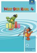 Welt der Zahl 4. Arbeitsheft mit CD-ROM. Nordrhein-Westfalen
