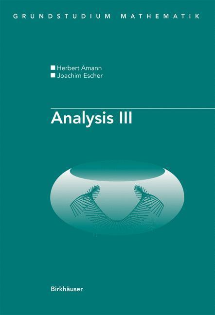 Analysis III als Buch