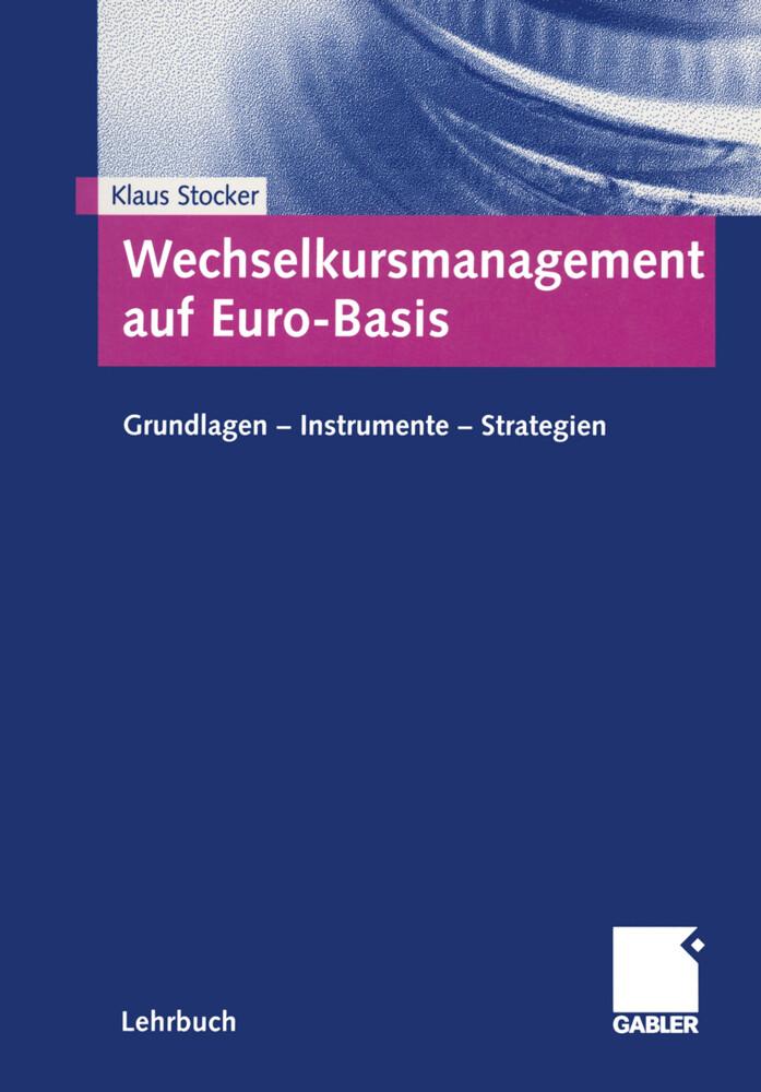 Wechselkursmanagement auf Euro-Basis als Buch