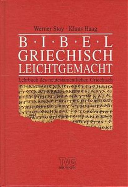 Bibelgriechisch leicht gemacht als Buch