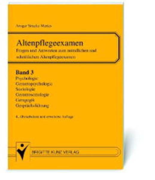 Altenpflegeexamen. Bd.3 als Buch