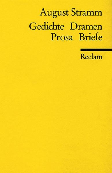 Gedichte. Dramen. Prosa. Briefe als Taschenbuch