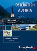 Freytag & Berndt Atlas Straßen & Städte Österreich, Europa. Roads & Cities Austria, Europa