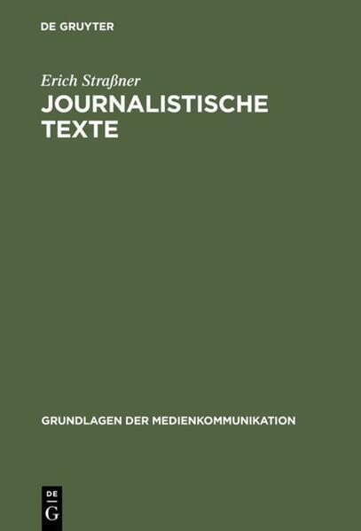 Journalistische Texte als Buch