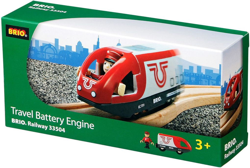 BRIO 33504 - Triebwagen, Batterielok