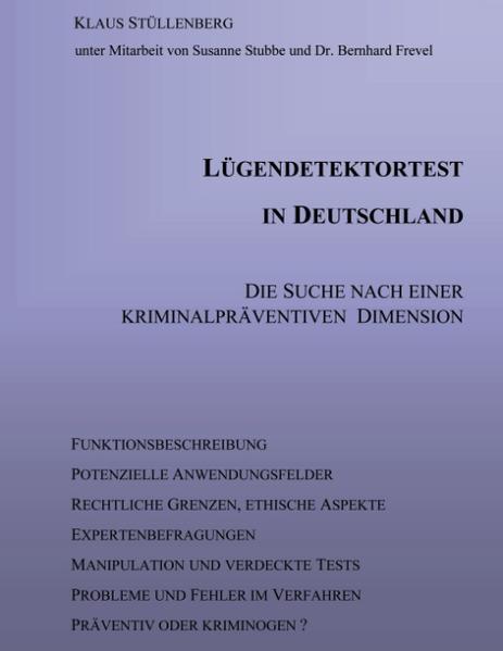 Lügendetektortest in Deutschland als Buch