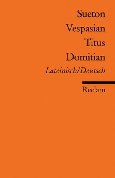 Vespasian, Titus, Domitian als Taschenbuch
