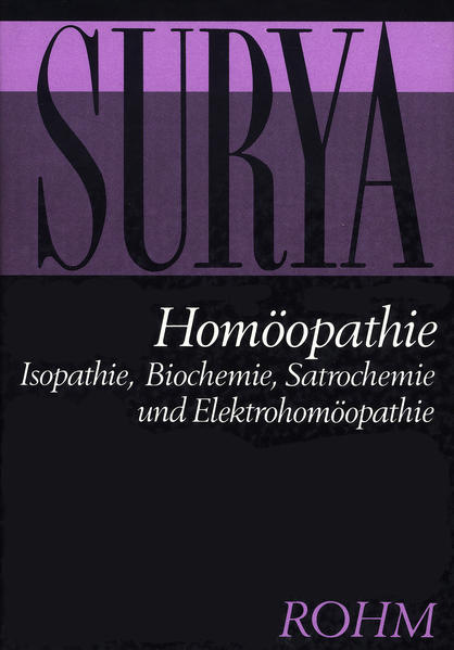 Homöopathie als Buch