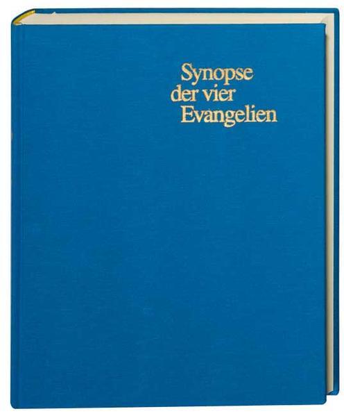 Synopse der vier Evangelien als Buch
