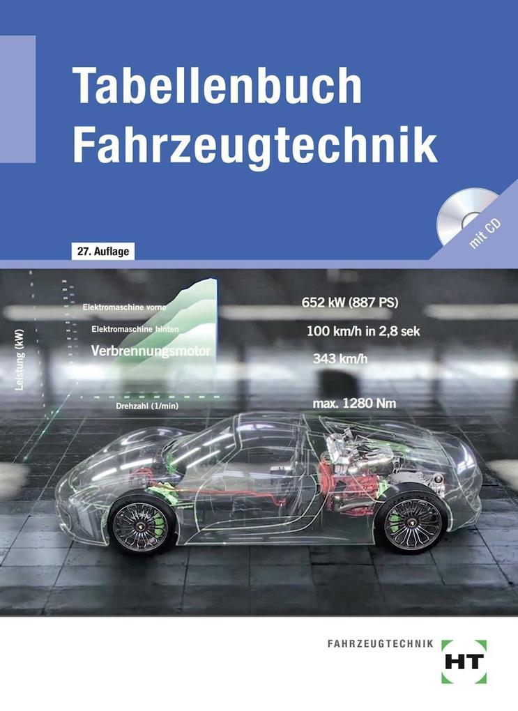 Tabellenbuch Fahrzeugtechnik als Buch