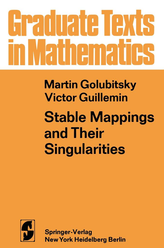 Stable Mappings and Their Singularities als Buc...