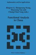 FUNCTIONAL ANALYSIS IN CHINA 1