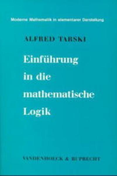 Einführung in die mathematische Logik als Buch