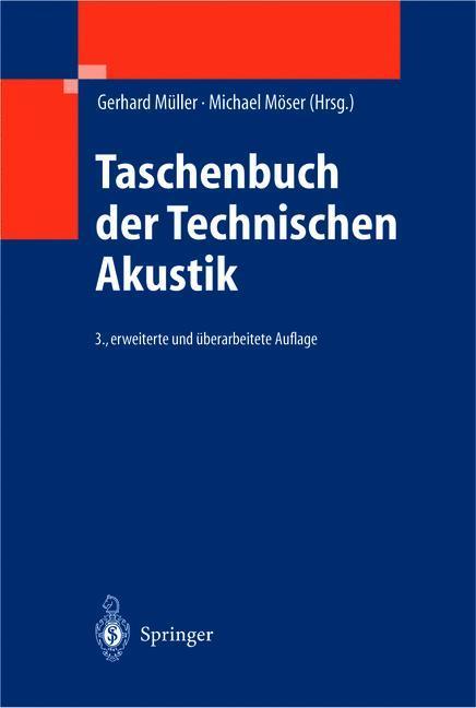 Taschenbuch der Technischen Akustik als Buch