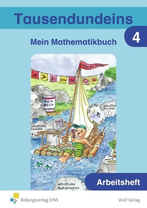 Tausendundeins 4. Arbeitsheft. Bayern als Buch