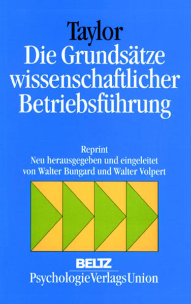 Die Grundsätze wissenschaftlicher Betriebsführung als Buch