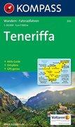 Carta escursionistica n. 233. Spagna. Isole Canarie. Teneriffa 1:50.000. Adatto a GPS. Digital map. DVD-ROM