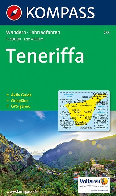 Teneriffa 1 : 50 000 als Buch