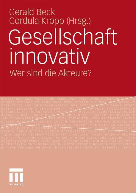 Gesellschaft innovativ als Buch von