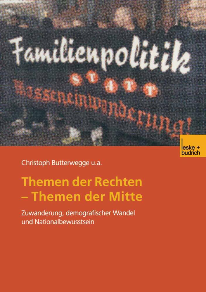 Themen der Rechten - Themen der Mitte als Buch