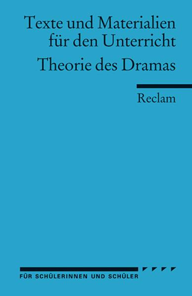 Theorie des Dramas als Taschenbuch