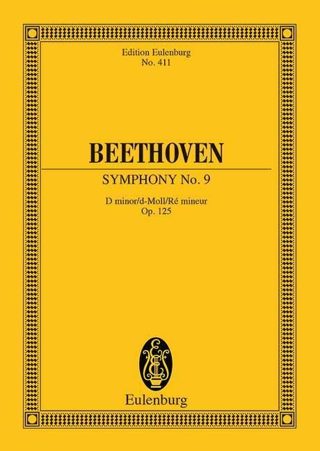 Sinfonie Nr. 9 d-Moll als Buch