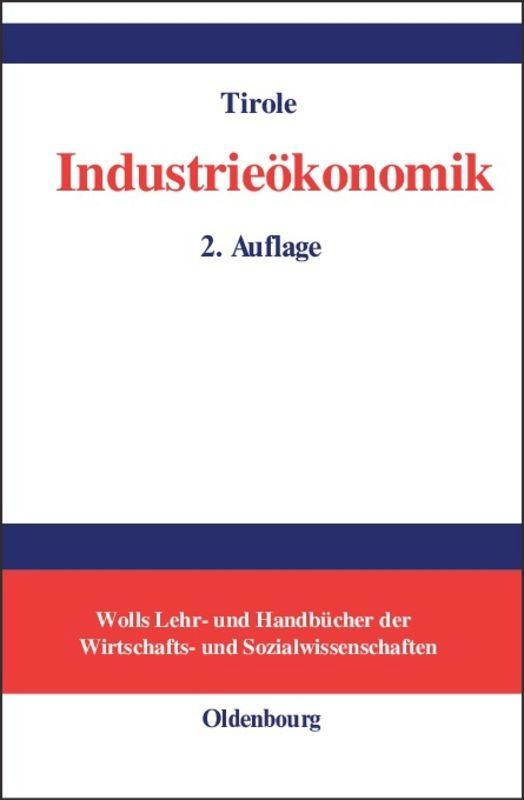 Industrieökonomik als Buch