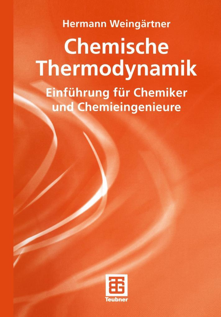 Chemische Thermodynamik als Buch