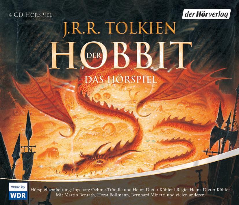 Der Hobbit. Sonderausgabe. 4 CDs als Hörbuch