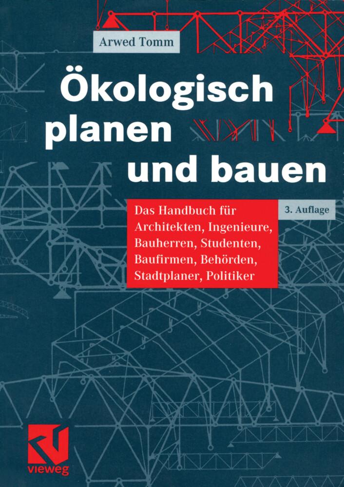 Ökologisch planen und bauen als Buch