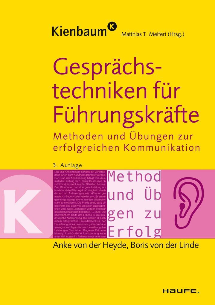 Gesprächstechniken für Führungskräfte als eBook...