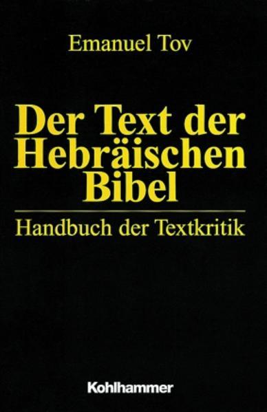 Der Text der Hebräischen Bibel als Buch