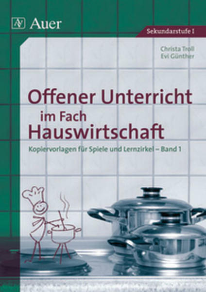 Offener Unterricht im Fach Hauswirtschaft als Buch