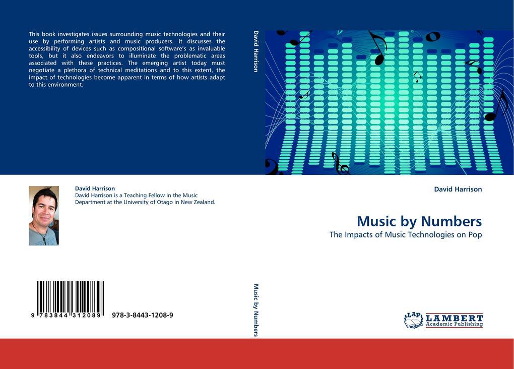 Music by Numbers als Buch von David Harrison