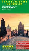 Höfer Tschechische Republik CS005. Mittelboehmen 1 : 200 000. Straßenkarte