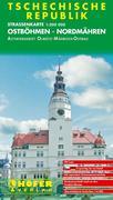 Höfer Tschechische Republik. CS003. Ostböhmen, Nordmähren 1 : 200 000. Straßenkarte