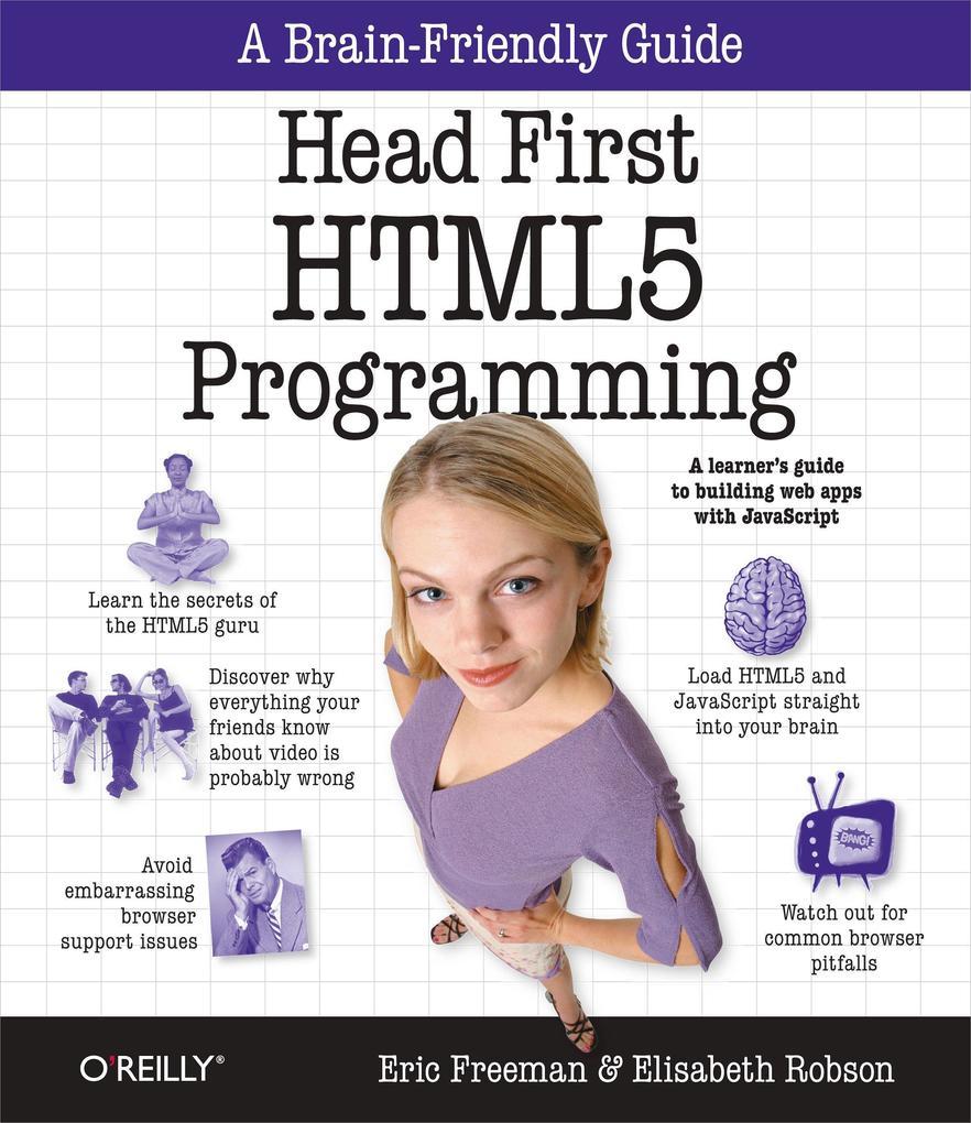 Head First HTML5 Programming als Buch von Eric ...