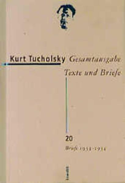 Briefe 1933 - 1934 als Buch