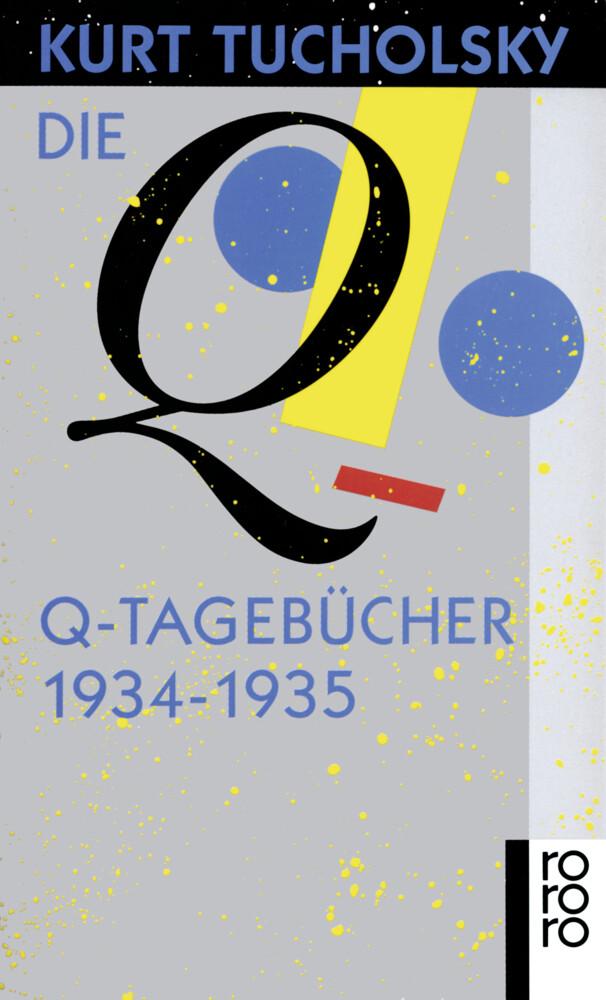 Die Q-Tagebücher 1934 - 1935 als Taschenbuch