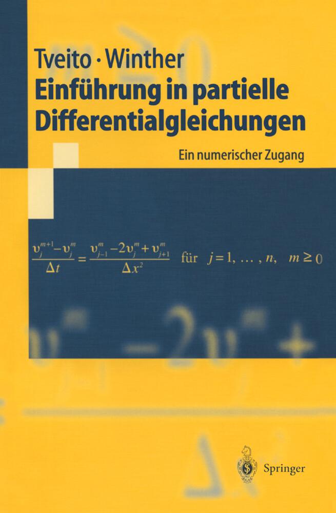 Einführung in partielle Differentialgleichungen als Buch