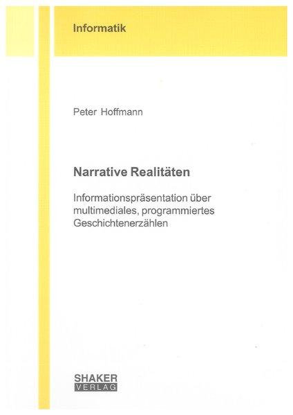 Narrative Realitäten als Buch von Peter Hoffmann