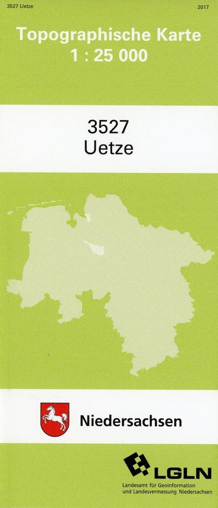 Uetze 1 : 25 000. (TK 3527/N) als Buch